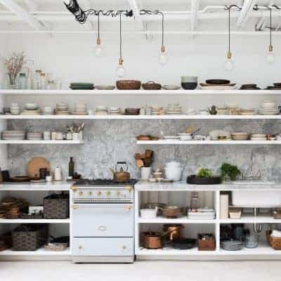 Maximalist Kitchen Organisation